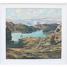 Muncaster, Claude Graham 1903-1974 British AR, Lake District Thirlmere. 28
