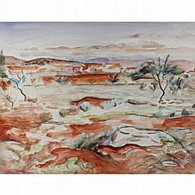 Meninsky, Bernard 1891-1950 British AR, Malaga. 1936 17 x 22 ins., (43 x 56