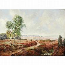 Besperato, Francesco Pablo de, b1963 Czechoslovakian AR, Landscape. 20 x 28