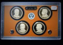 2013 S United States Proof Presidential Dollar Set