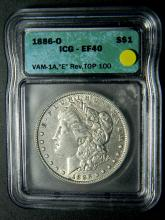 FEBRUARY ESTATE RARE COIN & CURRENCY AUCTION SESSION 1