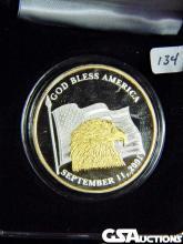 2001 Alaska Mint Medallion, 1 oz. .999 Fine Silver