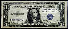 1935 H $1 Silver Certificate Nice High Grade Note