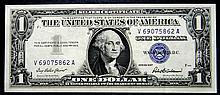 1957 Series $1 Silver Certificate High Grade Crisp Note