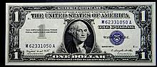 1957 A Series $1 Silver Certificate High Grade Crisp Note