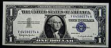 1957 B Series $1 Silver Certificate High Grade Crisp Note