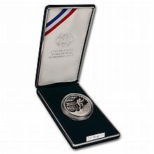 1991 P Korean War Memorial Silver Dollar 38th Anniversary Commemorative