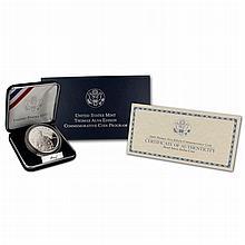2004  Proof Thomas Alva Edison Commemorative Silver Dollar Coin