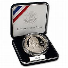 2006 Proof Ben Franklin Founding Father Commemorative Silver Dollar