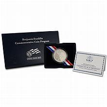 2006 Uncirculated Ben Franklin Scientist Commemorative Silver Dollar