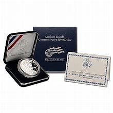 2009 P Abraham Lincoln Proof Commemorative Silver