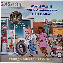 1993 P Uncirculated 50th Anniv. World War 2 Commemorative Half Dollar
