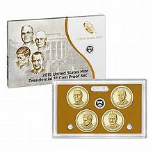 2015 S US Mint Presidential Dollar Proof Set