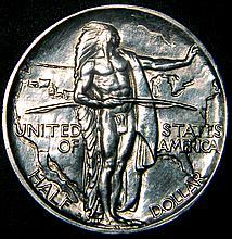 1926 S Oregon Trail Memorial Half Dollar Uncirculated