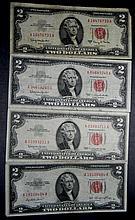 4x Series 1953-63A $2
