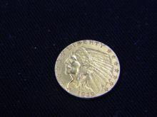 1929 2 1/2 Dollar Gold Indian