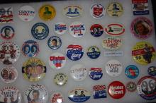 Collection Of 39 Campaign Buttons Bill Clinton And Al Gore