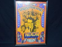 1968 Nixon Is The One Poster