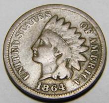 1864 L Bronze Indian Head Cent -Civil War Year- Rare!!!! Some Liberty