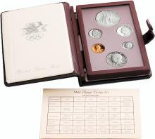 1984 S U.S. Mint Deep Cameo Proof Prestige Set