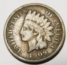 1909 Indian Head Cent Better Date Last Year.
