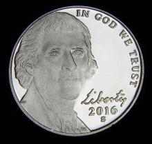 2016-S Proof Jefferson Nickel
