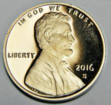 2016-S Proof Lincoln Cent
