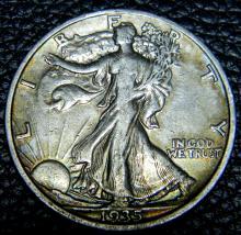 1935 Walking Liberty Half Dollar High Grade