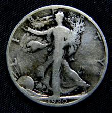 1920 S Walking Liberty Half Dollar