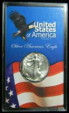 1997 United States American Silver Eagle, 1oz .999 Fine Sliver