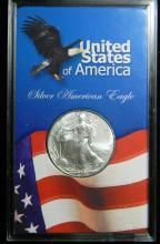 2003 United States American Silver Eagle, 1oz .999 Fine Sliver
