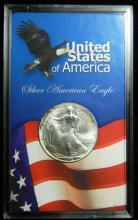 1995 United States American Silver Eagle, 1oz .999 Fine Sliver