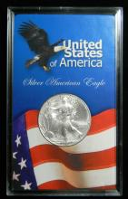 2001 United States American Silver Eagle, 1oz .999 Fine Sliver