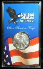 2002 United States American Silver Eagle, 1oz .999 Fine Sliver