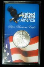 1998 United States American Silver Eagle, 1oz .999 Fine Sliver