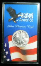 1999 United States American Silver Eagle, 1oz .999 Fine Sliver