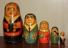 Russian Presidential Motryoshka Doll