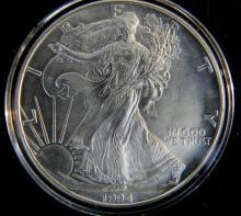 1994 American 1 oz. .999 Silver Eagle Brillant Uncirculated