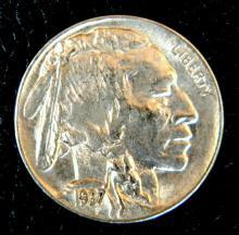 1937 D Uncirculated Buffalo Nickel