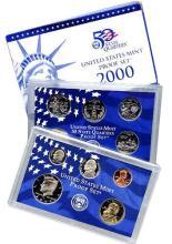 2000 S United States Mint Clad Proof Set 10 Pcs.