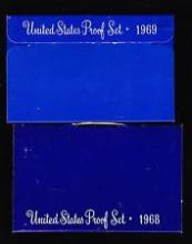 1968 S & 1969 S United States Proof Set