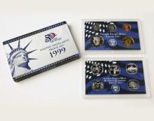 1999 S 9 Piece Clad Proof Set