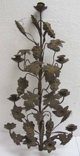 19th C. Bronze candelabra top