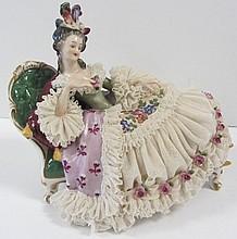C1900 German porcelain figure