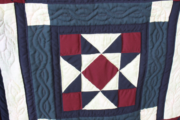 Purple Crazy Patch Quilt 85 X 99 Purple Shades Crazy Path Quilt 85 X 99