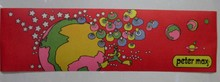 PETER MAX - RUNNING MAN IN SPACE LITHOGRAPH