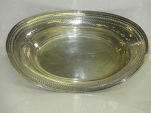 TIFFANY STERLING SILVER BREAD / FRUIT BASKET