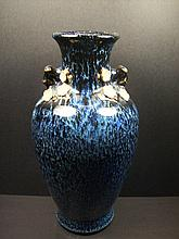A Beautiful and Very Rare LU-JUN Glazed Vase  H:32cm