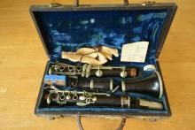 A Finely Larger Lebret flute, in lignum vitae, cased