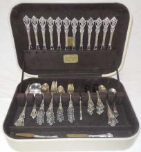 Vintage Tuttle Sterling Silver Flatware Service